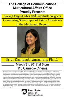 Dr. Srivi Ramasubramanian