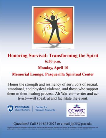 Honoring Survival