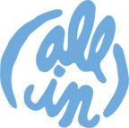 All In Logo - Blue
