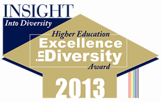 Higher Education Excellence in Diversity Award 2013