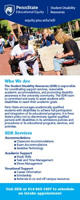 Student Disability Resources