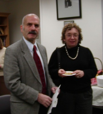 Robert Caserio and Marie Secor