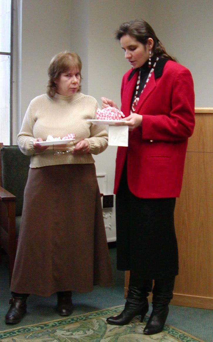 Liz Jenkins and Victoria Sanchez