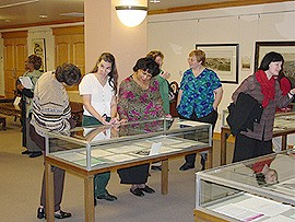 Special Collections Library in the Paterno Library.