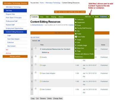 Site Content B