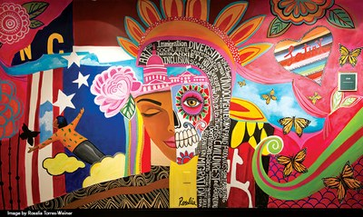 Latinx Leadership Institute Mural Image