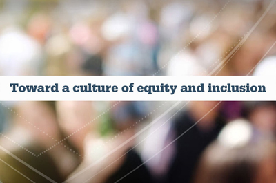 Culture of Equity and Inclusion graphic image