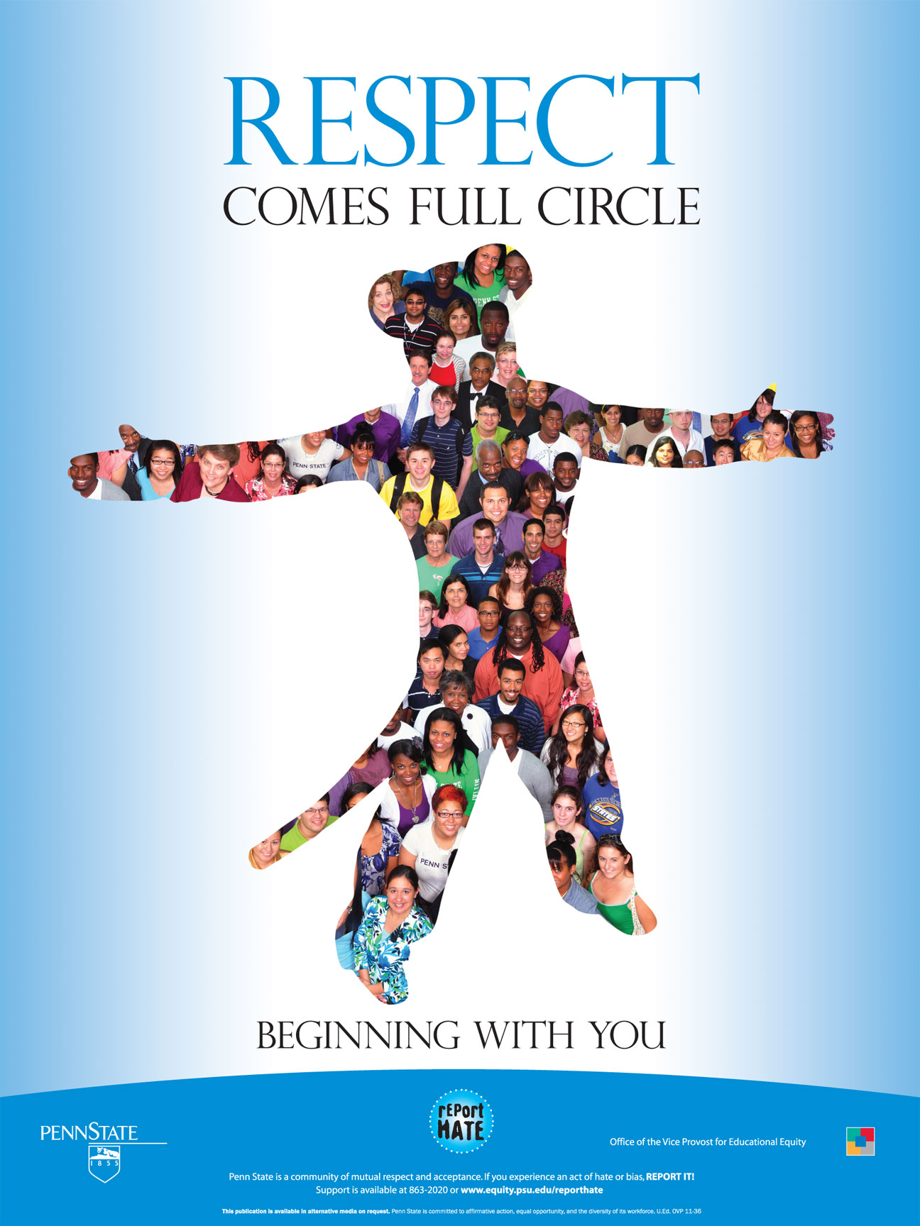 Respect Comes Full Circle Poster (Large)