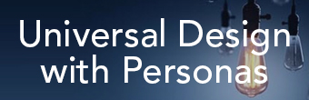 Universal Design with Personas Graphic