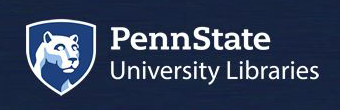 Penn State Libraries Logo Lockup