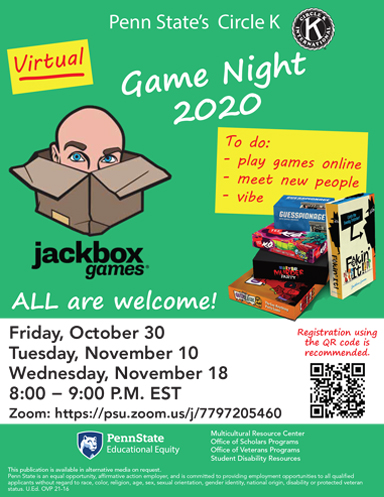 Virtual Game Night Thumbnail
