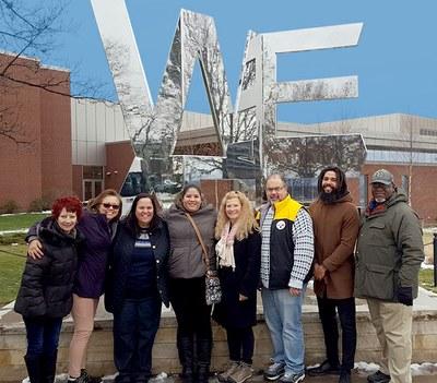 Upward Bound Program Staff Photo 2018