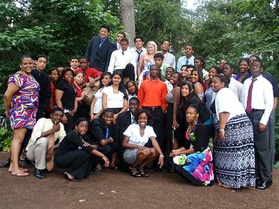 UBMS Students 2011 Lion Shrine