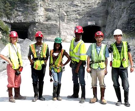 UBMS Mine Students