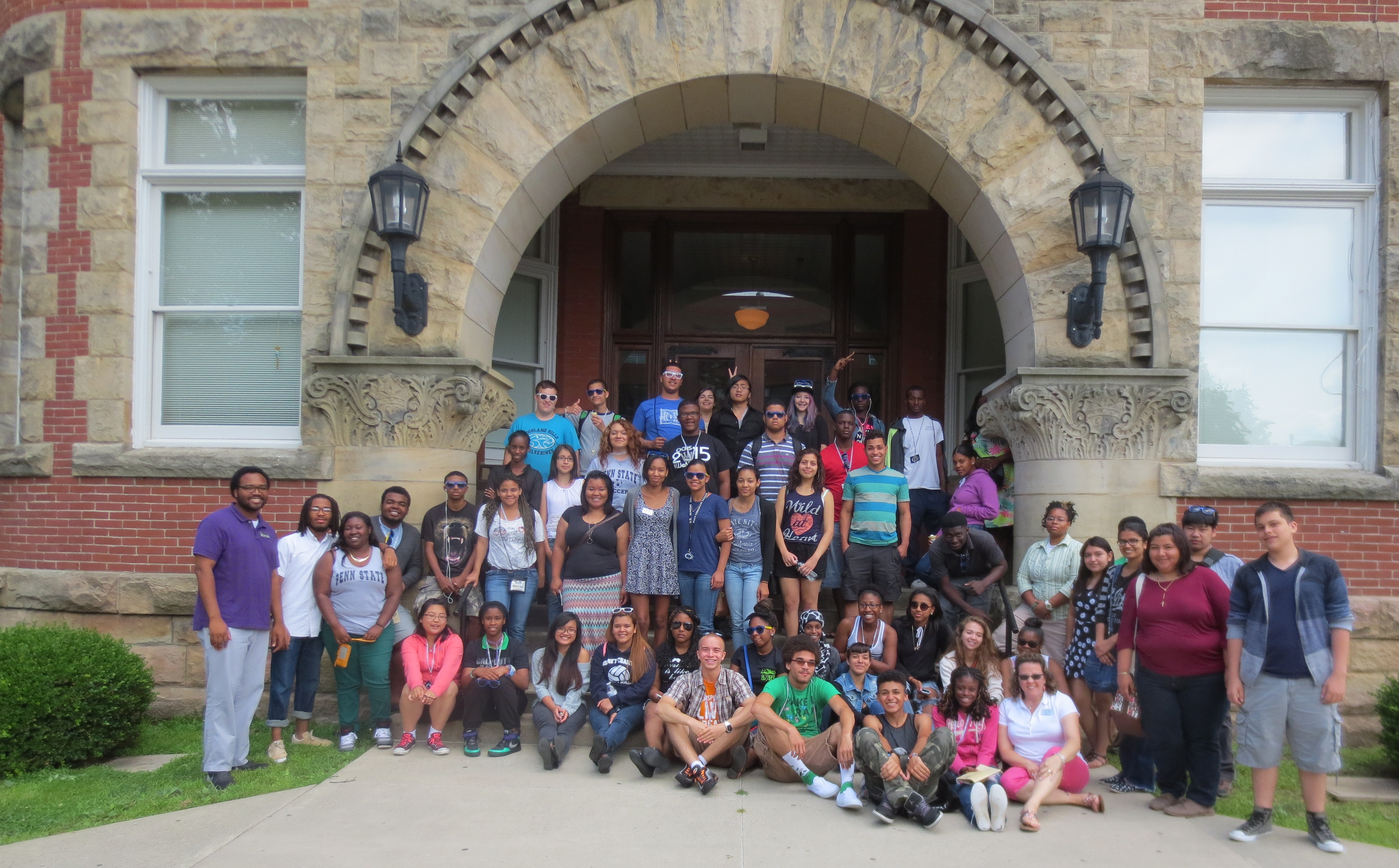 UBMS student visiting Clarion University