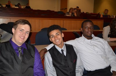 UBMS students at presentation day