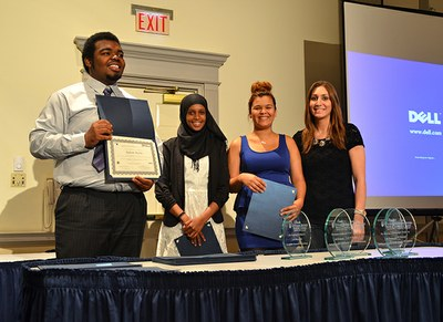 UBMS Students at Awards Ceremony