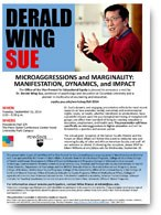 Dr. Derald Wing Sue